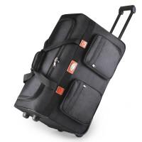 新款大号拉杆包拉杆箱大容量牛津布行李箱男女托运箱包防水防潮可折叠收纳旅行包25寸可商务出差、手提包