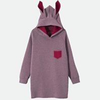 孕妇秋装套装2017新款韩版宽松大码加厚连帽孕妇卫衣外套两件套