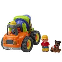 【当当自营】宝乐童益智工程玩具车套装儿童挖土推土车搅拌车泥斗车声光玩具车6817