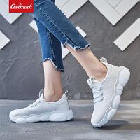 【新春惊喜价】Coolmuch女士轻便缓震透气小熊底运动休闲跑步鞋HL301