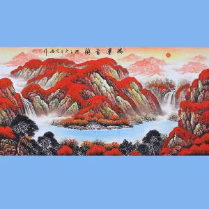 中国青年美术家协会常务理事,中国山水画院专业画家,国家一级美术师高云鹏(鸿运当头)