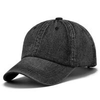 2018新款牛仔帽子休闲运动鸭舌棒球帽男女士韩版潮夏天春秋户外遮阳旅游帽 可调节