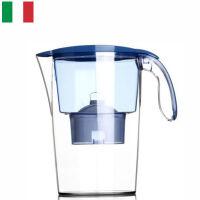 【当当海外购】意大利原装进口 莱卡(LAICA)双导流滤水壶(配滤芯)2.3L J703(蓝色)