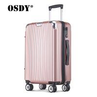 【限时1件3折】OSDY拉杆箱金属包角行李箱万向轮旅行箱A817-22寸