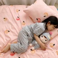纯棉网红款四件套卡通床上用品单人棉可爱三件套儿童被套