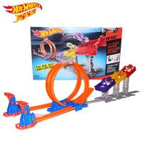 风火轮Hotwheels火辣小跑车极限跳跃赛道DJC05(内含小跑车1辆)赛车轨道男孩玩具