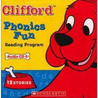 CLIFFORD PHONICS FUN CD#6 英文原版 大红狗学语音CD