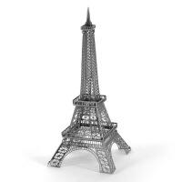 全金属 diy建筑拼装模型 3D纳米立体拼图 巴黎埃菲尔铁塔