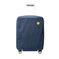 行李箱保护套拉杆箱套旅行箱皮箱套罩防水牛津布2022/24/28寸耐磨 藏青 牛津布【29/30寸】