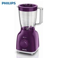 飞利浦(Philips)多功能果汁搅拌机HR2100/60 家用小型多档电动料理机台式1.5L辅食机 紫色