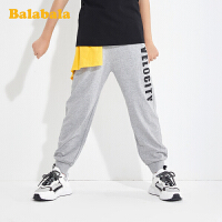 巴拉巴拉男童裤子儿童休闲裤2020新款童装男大童长裤韩版运动裤潮
