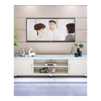 钢化玻璃电视柜现代简约茶几电视机柜组合客厅小户型迷你地柜 组装