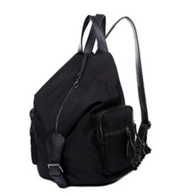 尼龙帆布双肩包牛津布女包休闲女士旅行背包