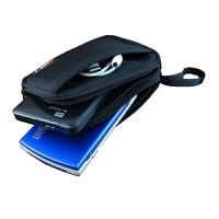 收纳包2.5寸整理包鼠标移动硬盘包充电宝数据线电源相机袋保护套 黑色