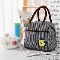手提包防水保温便当包饭盒袋午餐包手拎包宝妈咪包化妆包小布包包