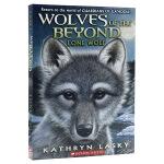 【中商原版】绝境狼王1 孤独的小狼 英文原版 Wolves of the Beyond #1 Lone Wolf 动物