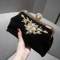女包手拿包款娘包包结婚包红时尚日韩晚宴包链条潮手提