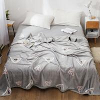 君别毯子床单加厚冬季盖毯珊瑚绒毛毯加厚法兰绒床单人18m床上午睡毯子