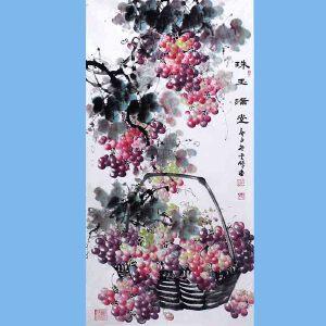 中国青年美术家协会常务理事,中国山水画院专业画家,山东省美术家协会会员,国家一级美术师高云鹏(珠玉满堂)8