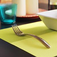 餐桌隔热耐磨西餐垫 欧式防滑垫 杯垫 可水洗环保pvc碗碟盘餐具垫 不褪色不发霉 亮丽的外形具有装饰功能