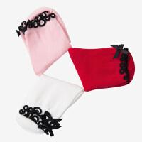 【3件3折约:20.7元】水孩儿souhait儿童袜子新款儿童时尚素色袜子(3双装)AMQ0644586