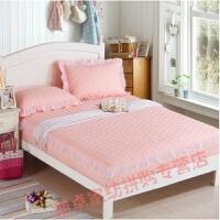 双人床防滑床罩加棉1.8米.2公主厚垫床罩床罩双人床防滑垫