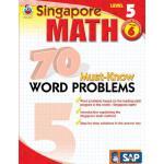 【预订】70 Must-Know Word Problems, Grade 6