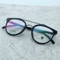 韩雪同款眼镜黑框tr90眼镜架女款圆形框复古配镜圆框文艺眼睛架