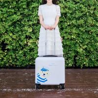 16寸拉杆箱小行李箱子旅行箱万向轮迷你登机箱18寸密码箱手拉箱包 18寸
