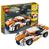 【当当自营】乐高LEGO Creator系列 31089 日落场地赛车