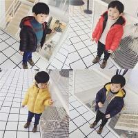 儿童宝宝轻薄款羽绒服装男童女童连帽加厚外套小童装12-3-4-5岁 (预售年后发)