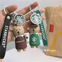 韩国个性创意网红汽车钥匙扣女款男士可爱书包挂件公仔ins钥匙链