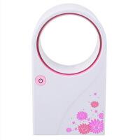 手持式�池�捎每照{�o�~�L扇迷你掌上空�{小�L扇 USB制冷可充�便�y式�W生手持�o�~笑���L扇