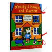 【中商原版】小鼠波波的房子和花园 搭建立体场景 Maisy's House and Garden