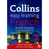 【预订】Collins Easy Learning Audio Course �C French: Stege 2
