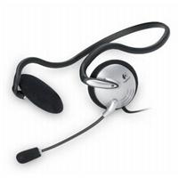Logitech/罗技 轻音通120 后挂式耳机麦克风工包