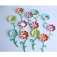 包邮幼儿园手工纸盘diy彩色纸盘布置装饰材料花形花瓣形立体花纸托