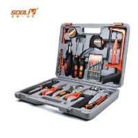 德国圣德保罗 SD-010 家用维修五金工具套装工具箱 43件