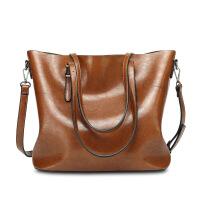 卡帝乐新款复古女包 英伦风单肩斜跨包 托特包休闲女士包袋