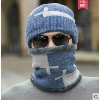 圆顶棉帽子男男士保暖韩版毛线帽青年百搭护耳出游潮时尚个性帽子