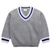 宝宝毛衣男1-3岁潮2韩版儿童秋装线衣男童针织衫套头小童男宝宝45