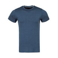 亚瑟士-男式无缝拼接短袖T恤-男-154745-1273