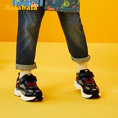 【12.18集团庆 5折价:134.5】巴拉巴拉女童鞋儿童运动鞋男童鞋子2019新款大童潮酷老爹童鞋冬季