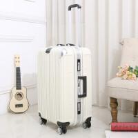 行李箱铝框拉杆箱女男学生韩版箱子20寸密码箱旅行箱万向轮24寸