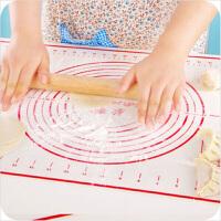 红兔子 软瓷硅胶揉面垫 耐高温防滑不粘面 厨房烘焙案板 烘焙操作案板 26*30cm小号黑色