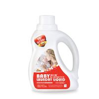 【当当自营】琪贝斯 婴儿除甲醛洗衣液1200ml 2倍浓缩 宝宝衣物清洗液