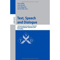 Text, Speech and Dialogue: 13th International Conference, T