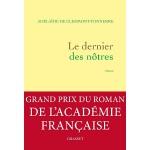 【中商原版】我们当中最后的人(2016法兰西文学院小说大奖)法文原版 Le Dernier Des Notres