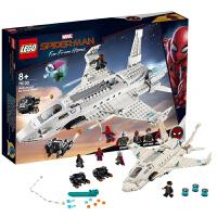 【当当自营】乐高LEGO 超级英雄系列 76130钢铁侠战机和无人机攻击