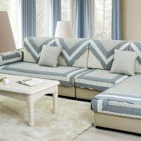 全棉田园风沙发垫套装坐垫四季沙发套